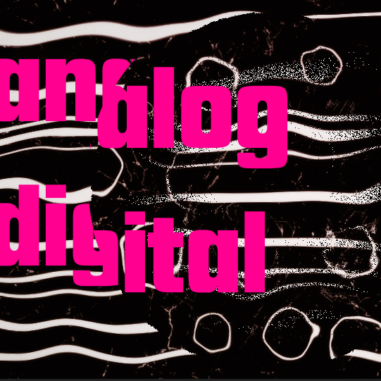 Analog Digital – staging music
